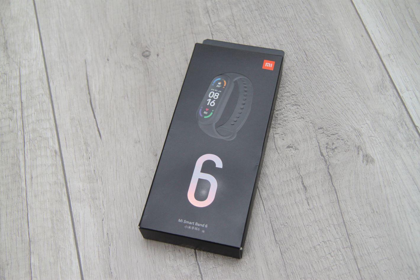Xiaomi Mi Band 6 pudełko