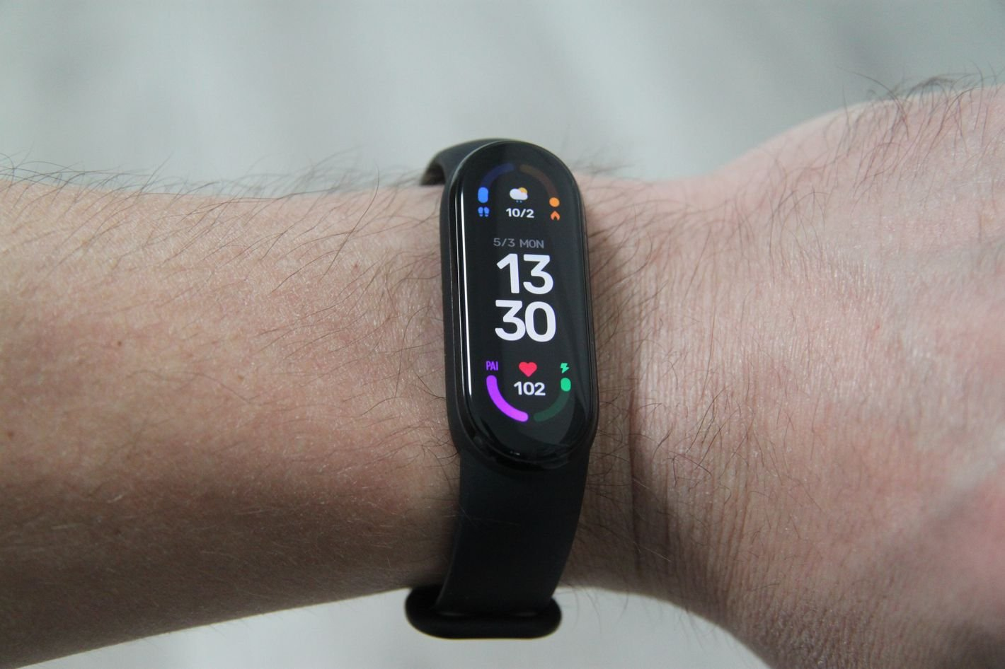 Xiaomi Mi Band 6 tarcza zegarka