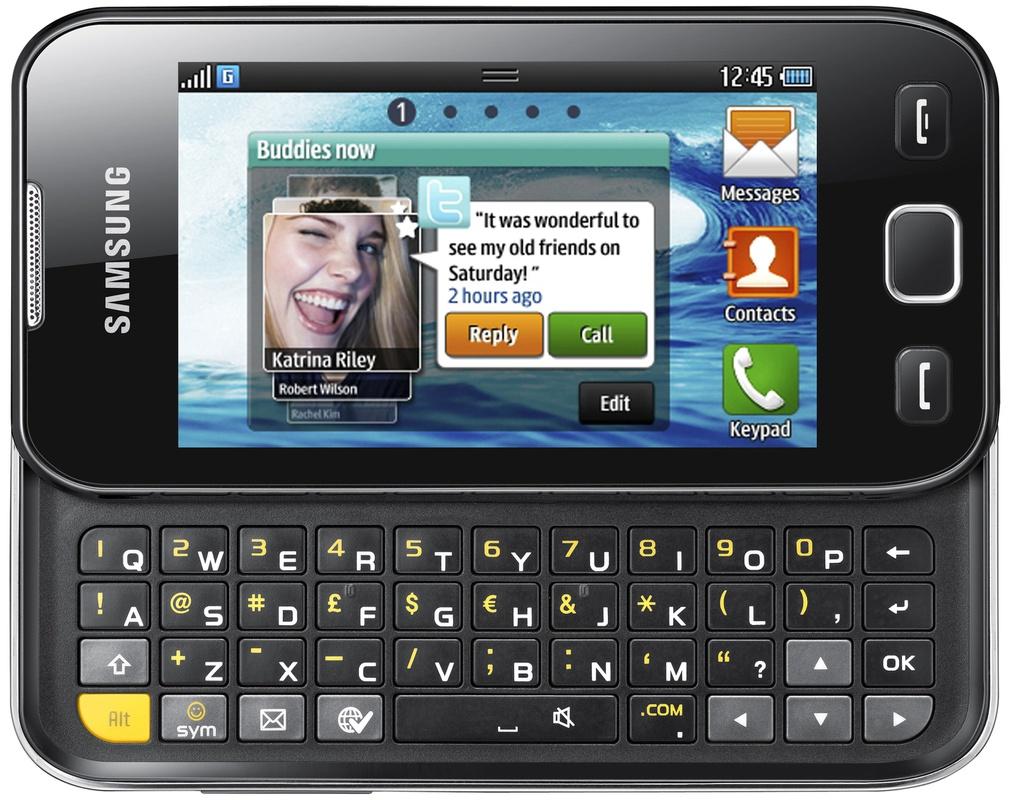 Samsung Wave 533 bada os