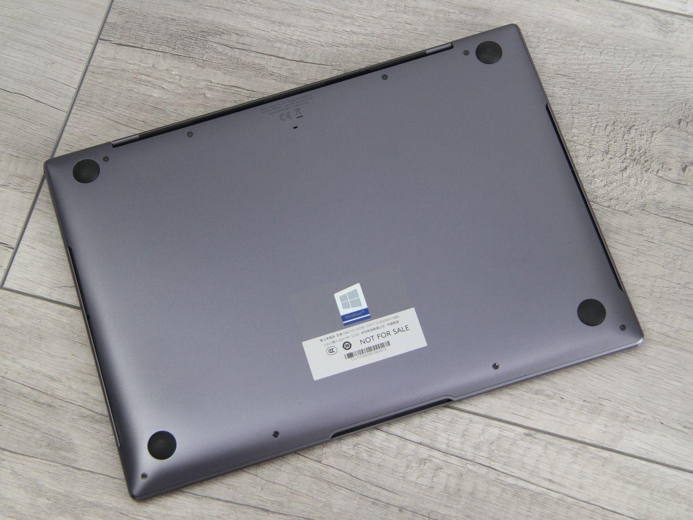 Huawei Matebook X Pro 2021 spód