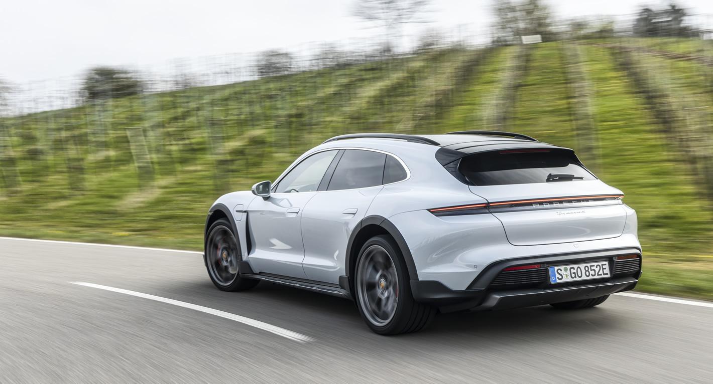Porsche Taycan Cross Turismo w programie Mój elektryk