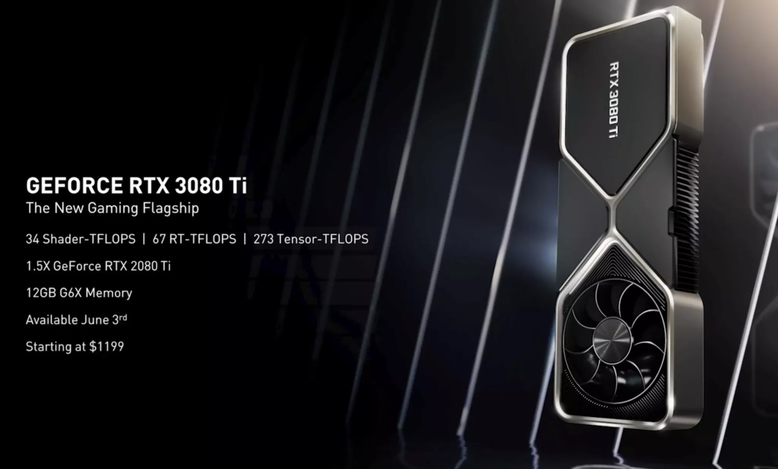GeForce RTx 3080Ti specyfikacja