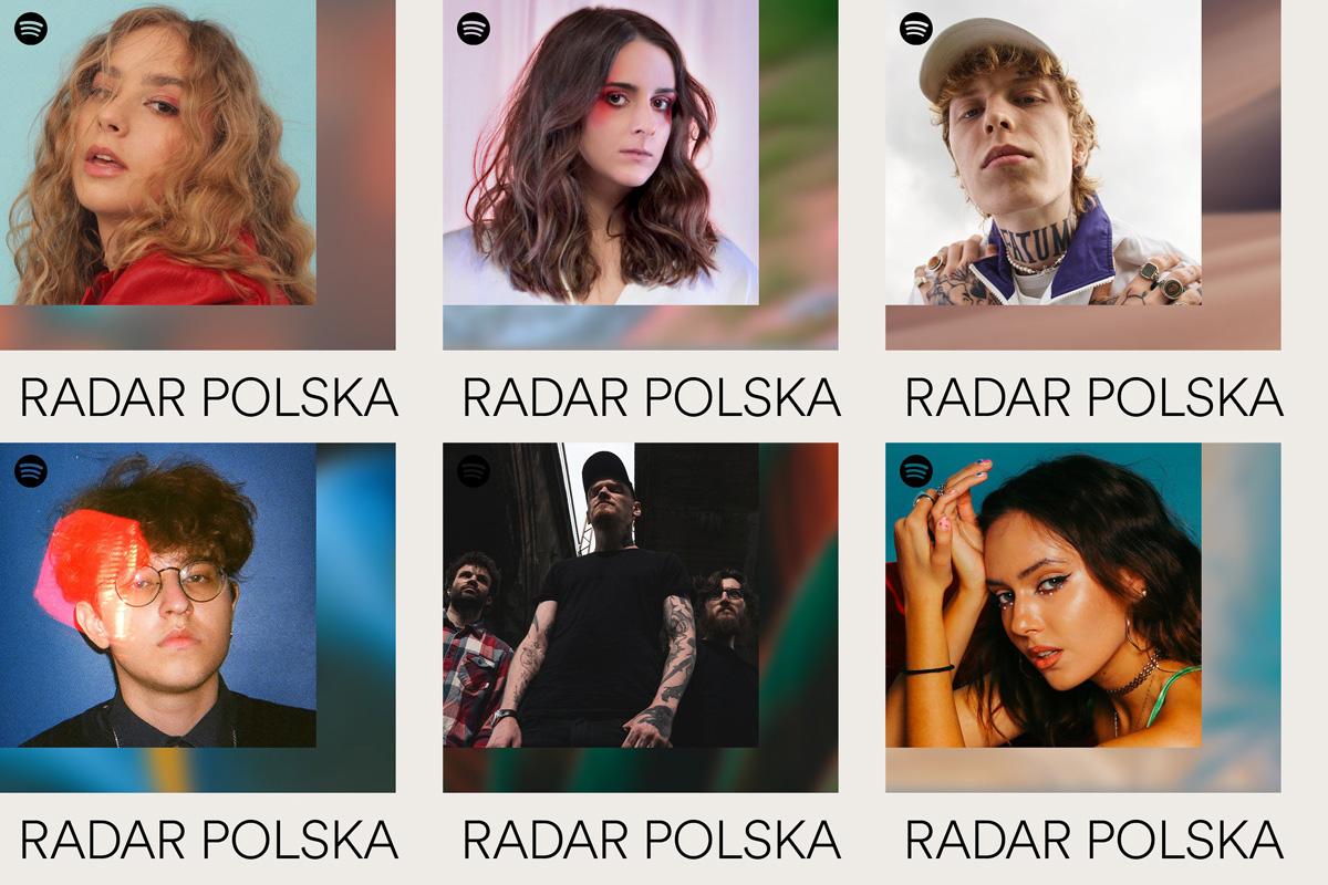 polscy artyści w programie spotify radar