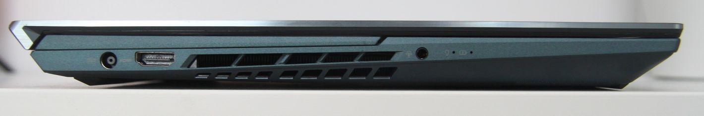 ASUS ZenBook Pro Duo UX582 lewa strona
