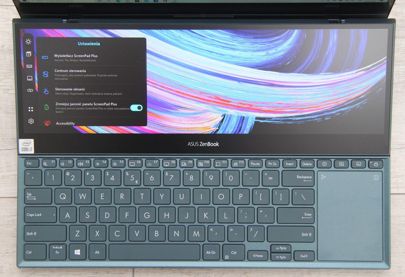 ASUS ZenBook Pro Duo UX582 ScreenPad