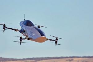 Pierwsze loty powietrznej rajdówki, wyścigi Airspeeder EXA jeszcze w tym roku