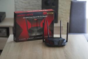 WiFi 6 tanio kupię! Test routera Mercusys MR70X