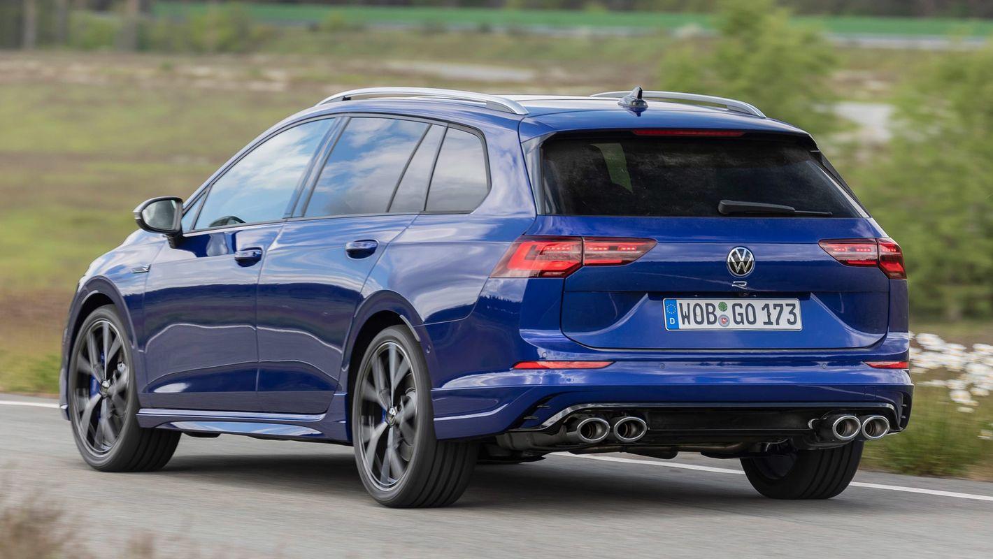 Volkswagen Golf R kombi 8. gen tył