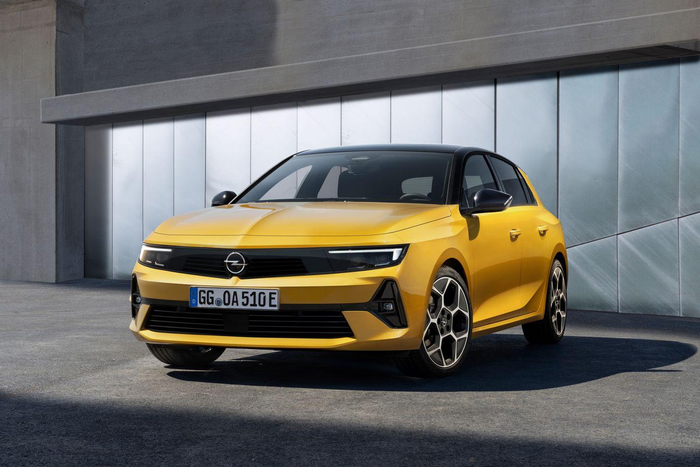 Opel Astra 6. generacji